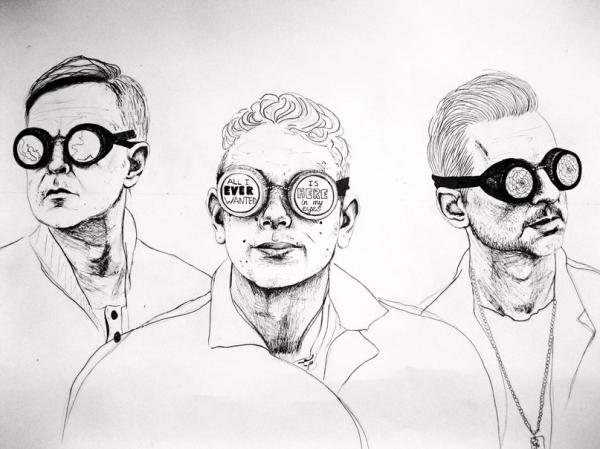 Depeche Mode por TrevorReznik